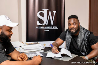SJW Entertainment signs recording deal with Singer, Song writer and producer BlaqJersey as An Artiste