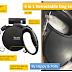Dog Leash | Retractable with Flashlight Detachable
