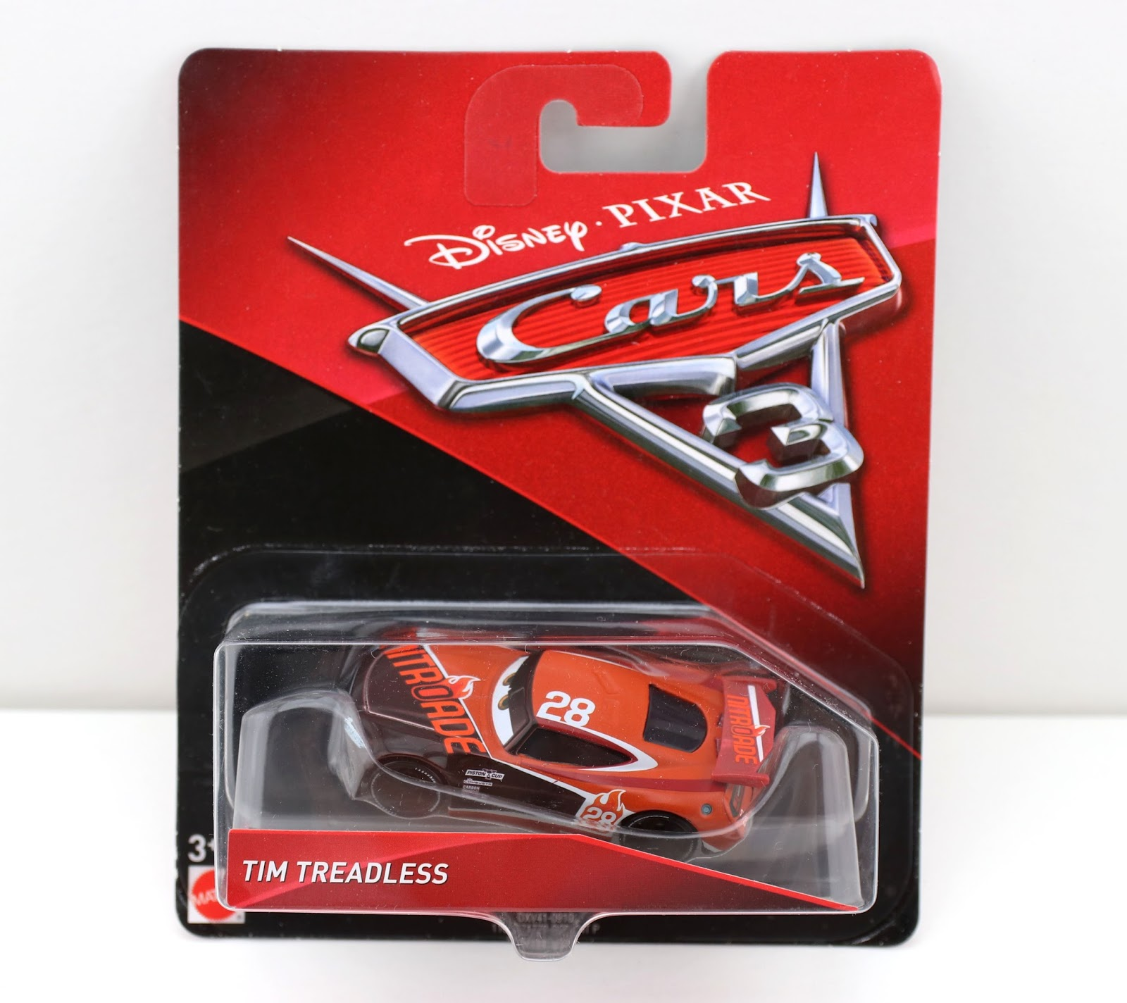 Cars 3 Tim Treadless diecast mattel