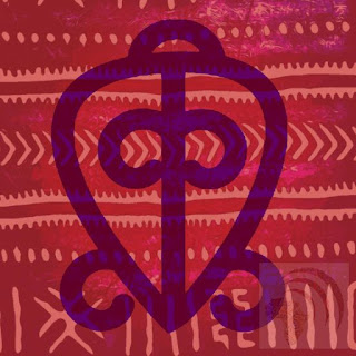 Odo Nnyew Fie Kwan is the symbol for the power of love.