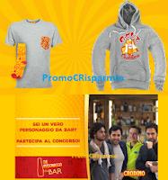 Logo Concorso ''Che personaggio da Bar'': vinci gratis felpe, t-shirt e voucher per viaggi a non solo !