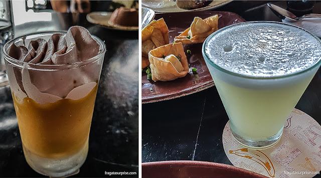 Comer e beber no Peru: suspiro limenho e pisco sour