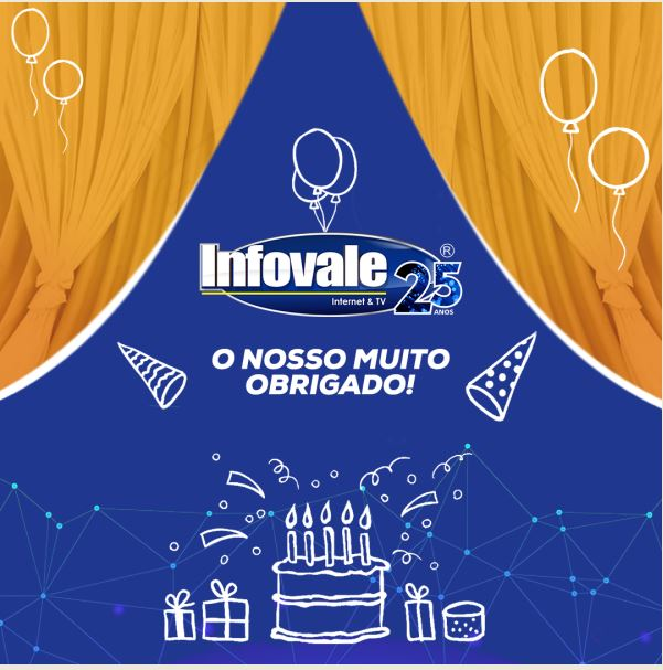 Infovale completa 25 anos