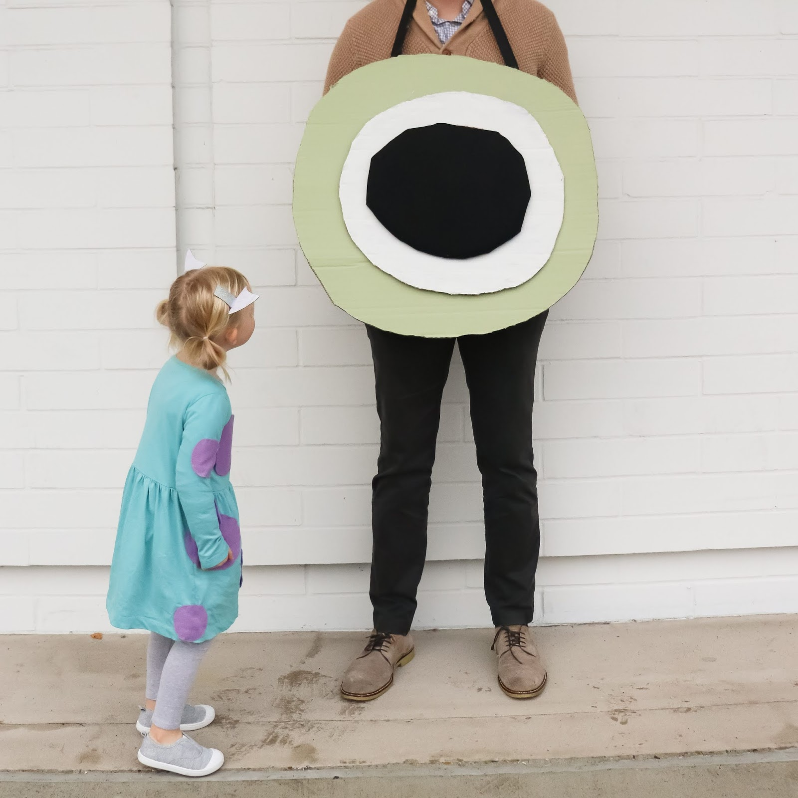 DIY Monster Inc Family Costume