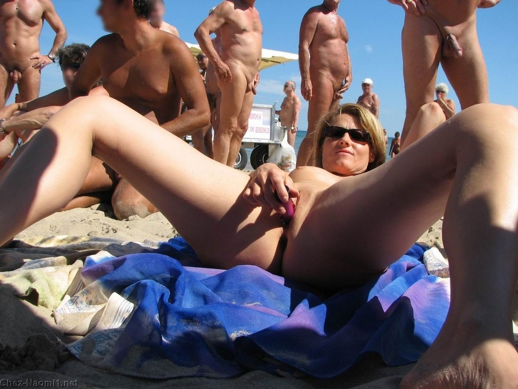 Naked girls having sex in public