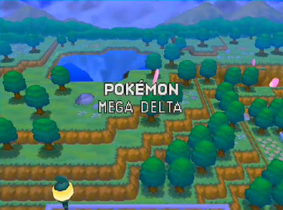 Pokemon Mega Delta para NDS Español Portada del inicio del juego