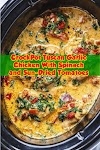 #CrockPot #Tuscan #Garlic #Chicken #With #Spinach #and #Sun-Dried #Tomatoes