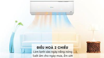 Điều hòa Casper 2 Chiều 24000BTU inverter với chế độ sưởi ấm