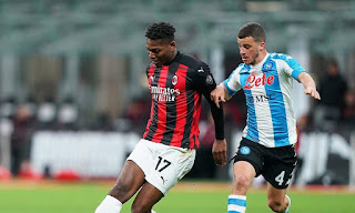ملخص وهدف فوز نابولي علي ميلان (1-0) الدوري الايطالي