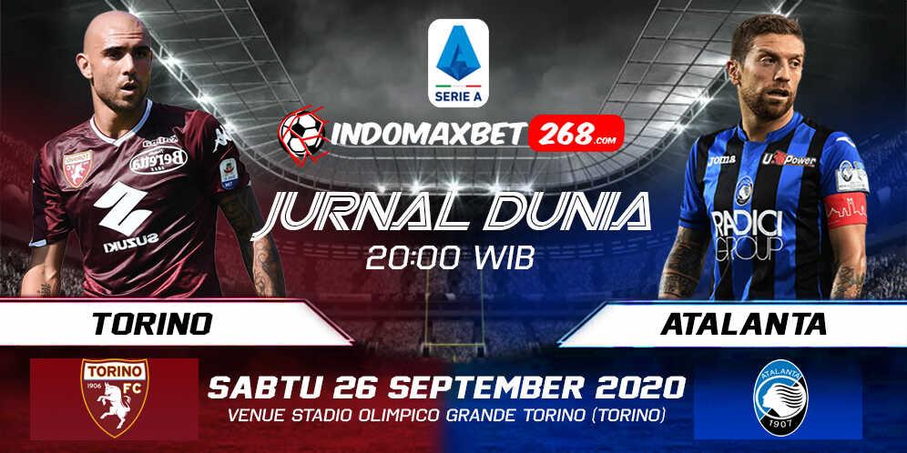 Prediksi Torino vs Atalanta 26 September 2020 Pukul 20:00 WIB