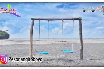 Tiket Masuk Wisata Pantai Ngiroboyo Pacitan