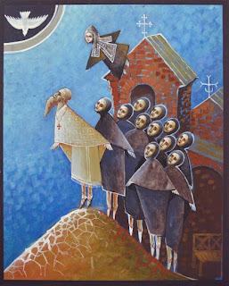 Обложка книги прот. Сергия Баранова «К свету» (издание Орского Иверского монастыря)