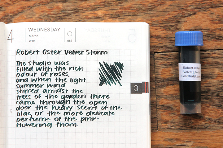 review: robert oster signature velvet storm