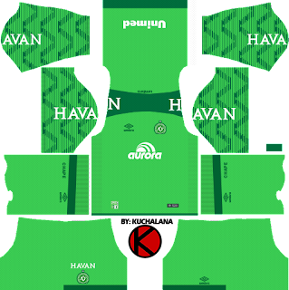 Chapecoense 2017/18 - Dream League Soccer Kits
