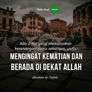 mutiara islam mengingat kematian