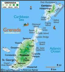 Peta Negara Grenada