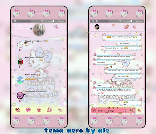 Hello Kitty Pastel Theme For YOWhatsApp & Fouad WhatsApp By Alejandra