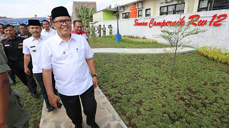 Wakil Walikota Bandung Resmikan Taman Campernik Gedebage