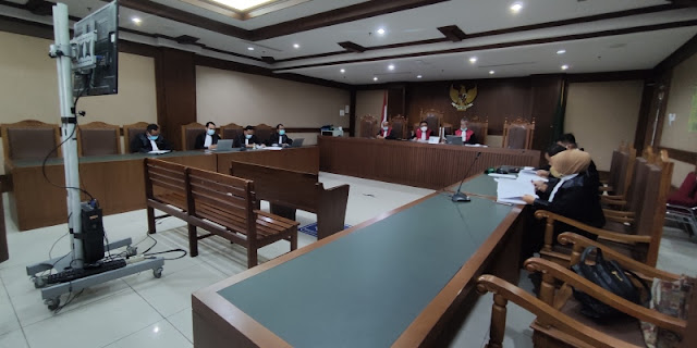 Minta Broker Bansos Dijerat Hukum, Terdakwa Penyuap Juliari Batubara Kutip Surat Al-Anam Ayat 164