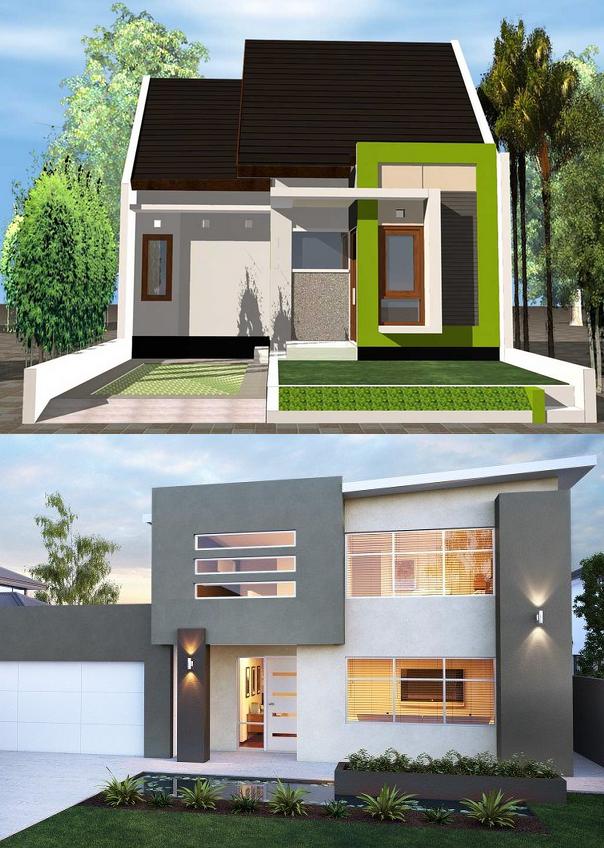 Kombinasi Warna Cat Rumah Minimalis | Desain Rumah Minimalis