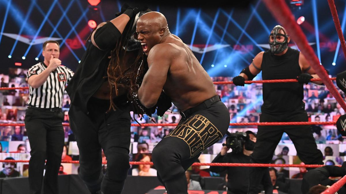 Retribution and Bobby Lashley on WWE RAW