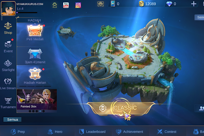 Download Mobile Legends (ML) Versi 2.0 Apk (New Interface, Lancar)