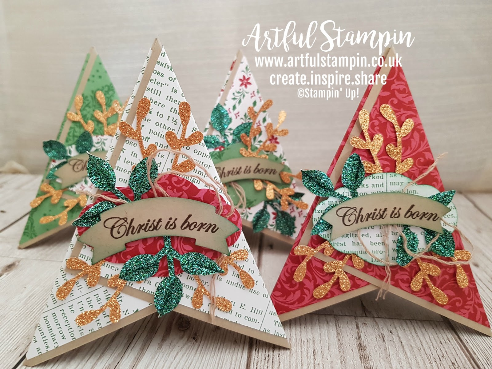 Artful Stampin Uk Independent Stampin Up demonstrator Ruth