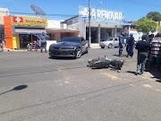 URGENTE: Condutor de Pop arrebenta porta de Camaro em Pedreiras