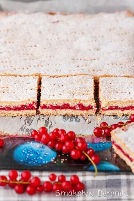 Ciasto z porzeczką
