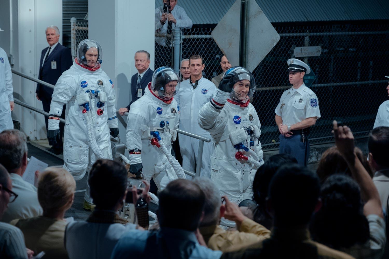 FIRST MAN – EL PRIMER HOMBRE -  astronautas