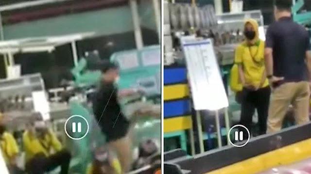 Video Viral TKA Marah Tendang Karyawan Lokal di PT Taekwang Subang