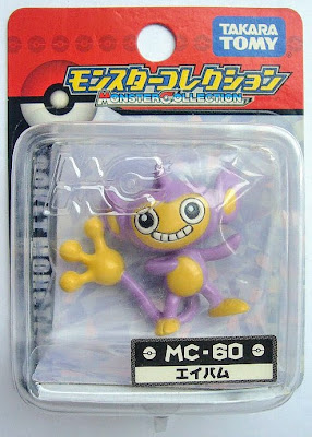 Aipom figure Tomy Monster Collection MC series