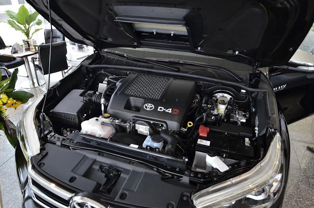 Khối động cơ D4S tăng áp VNT cho công suất cao, khả năng tiết kiệm nhiên liệu tốt