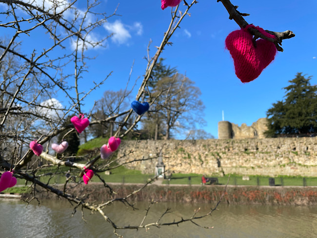 Yarn Hearts | Exploring Tonbridge Castle and Surrounds