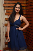 Radhika Mehrotra in a Deep neck Sleeveless Blue Dress at Mirchi Music Awards South 2017 ~  Exclusive Celebrities Galleries 053.jpg