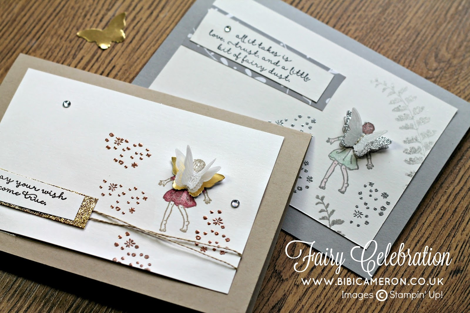 fairy celebration by stampin up encouragement cards for gdp044