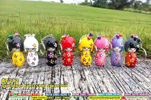 Gantungan Kunci Chibi Japan Doll