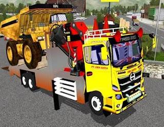 Download mod truck hino muatan truk tambang
