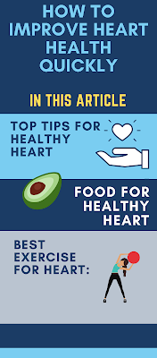 How to improve heart health quickly