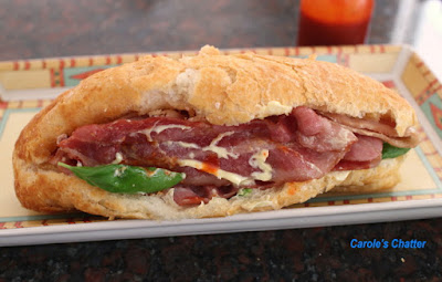 Carole's Chatter: Bacon Roll