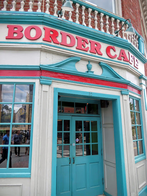 Border Cafe in Harvard Square in Cambridge, Massachusetts