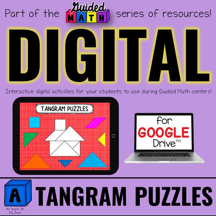 Digital Tangram Puzzles