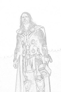 Thor coloring pages coloring.filminspector.com