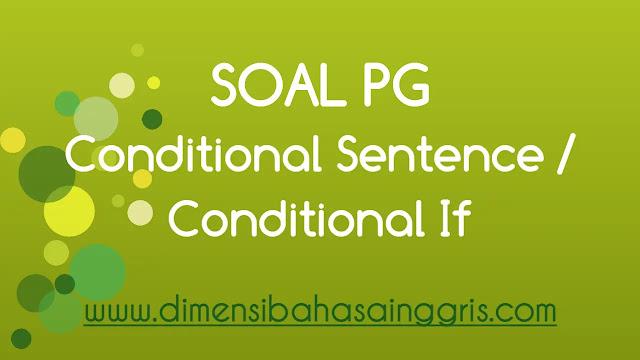 DBI - soal PG conditional sentence / if dan jawaban