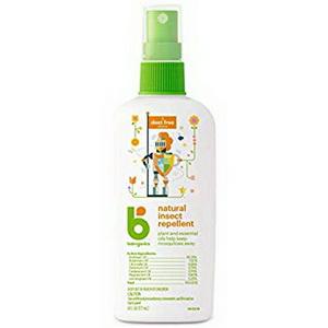 Tinh dầu xịt đuổi muỗi côn trùng cho trẻ Babyganic177ml chính hãng Mỹ