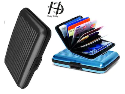 Get HD Aluma Wallet Designer Card Holder For Free...