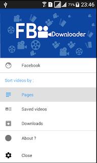 تطبيق-Video-Downloader-For-Facebook