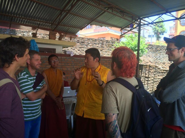 Phakchok Rimpoche coordinating Nepal Earthquake Relief efforts