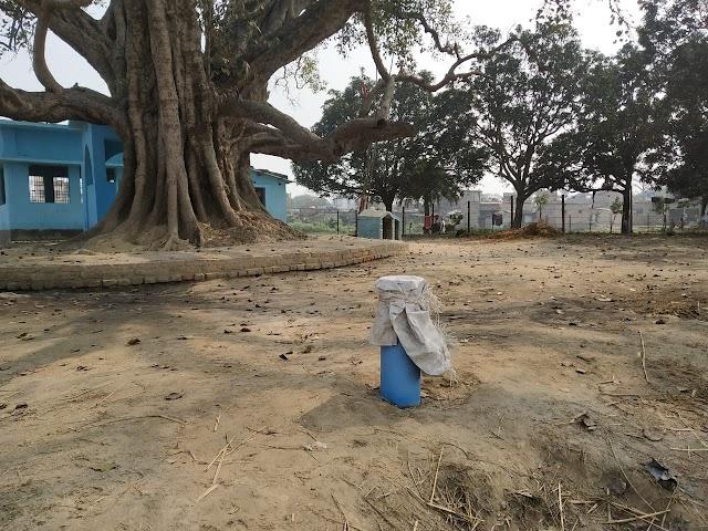 त्योंथ के वार्ड-03 में बोरी में बंद लाखों का बोरिंग