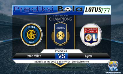 Prediksi Pertandingan antara Inter Milan vs Lyon Tanggal 24 Juli 2017